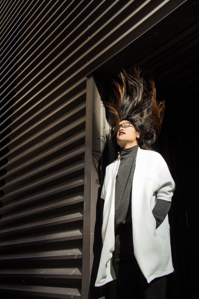 Model: Rachel Cheng