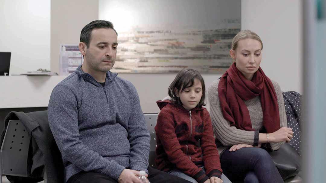 A film still from Samiramis Kia's Milk
